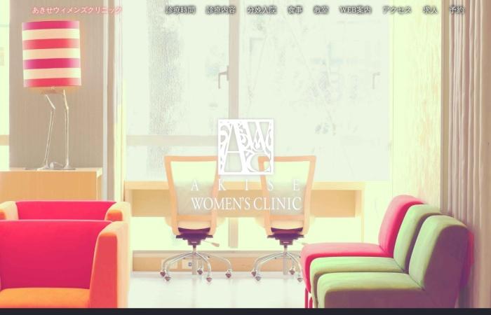 Screenshot of akise-wc.com