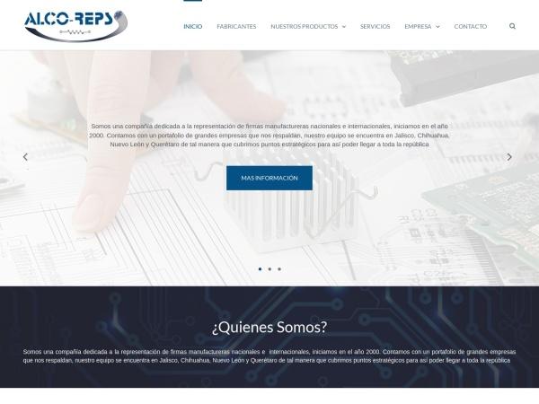 Captura de pantalla de alco-reps.com.mx
