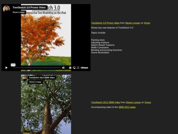 http://algorithmicbotany.org/TreeSketch/