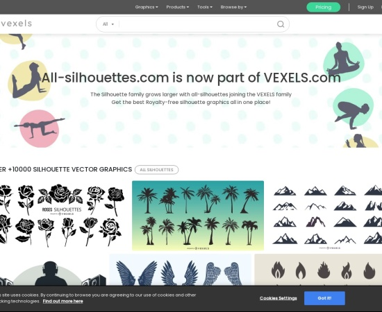 http://all-silhouettes.com/