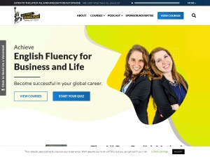 Screenshot of allearsenglish.com