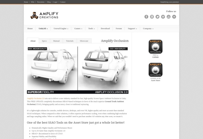 Screenshot of amplify.pt