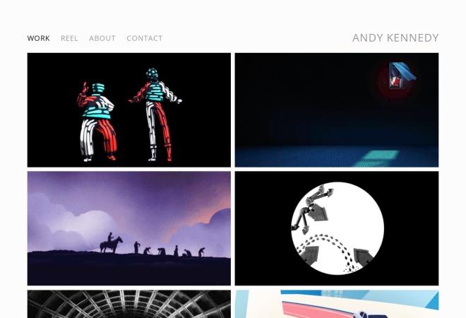 Screenshot of andykennedy.net