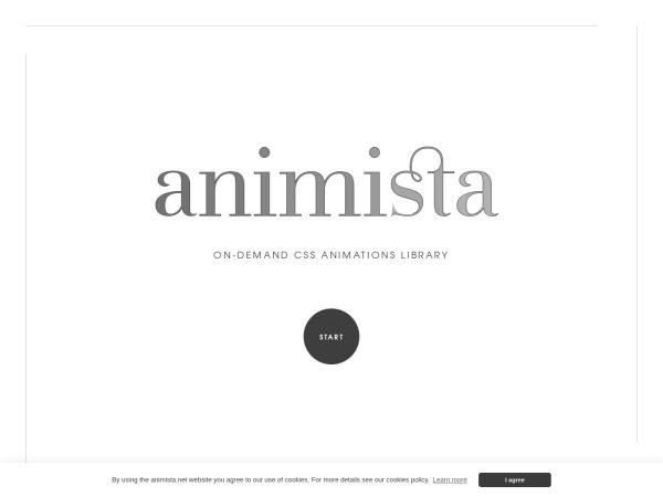 Screenshot of animista.net