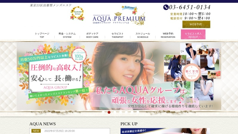 Screenshot of aqua-premium.com