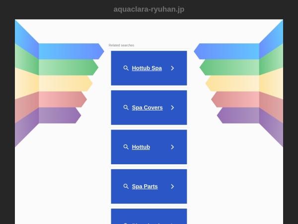 Screenshot of aquaclara-ryuhan.jp
