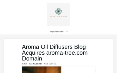 Screenshot of aroma-tree.com