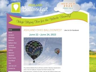 Ashland Ballonfest Website