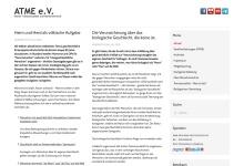 Screenshot of atme-ev.de
