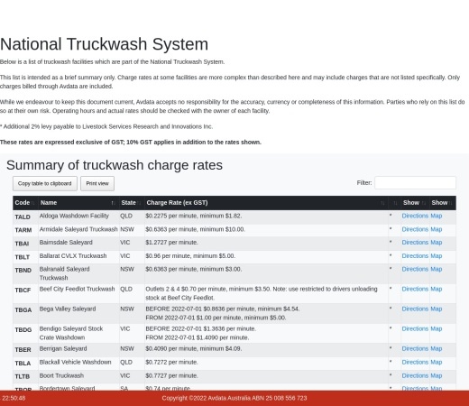 Screenshot of avdata.com.au