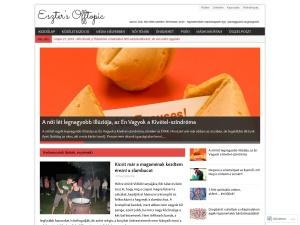 Eszter's Offtopic using the MH Magazine WordPress Theme