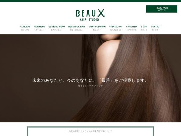 Screenshot of beaux2012.com