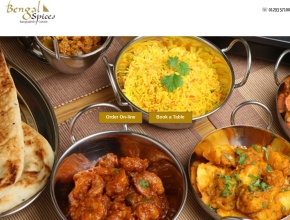 Screenshot of bengalspices.co.uk
