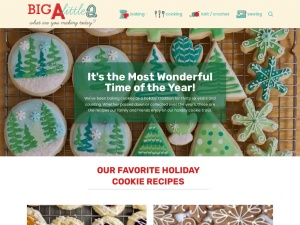 Big A, Little A using the Just Desserts WordPress Theme