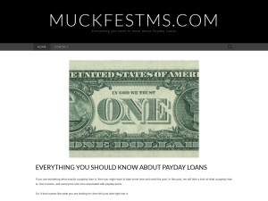 MuckFest® MS using the Adventure WordPress Theme
