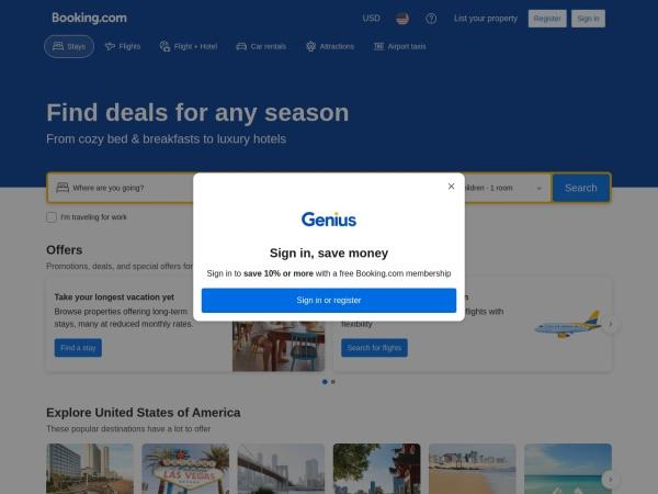 Site Booking.com