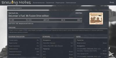 Screenshot of brewingnotes.ru