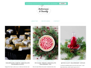 Buttercream & Chantilly using the Pretty Young Thing WordPress Theme