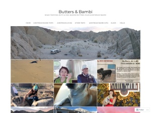 Butters & Bambi using the Puzzle WordPress Theme
