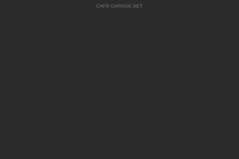 Screenshot of cafe-garage.net