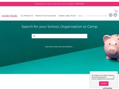 Screenshot of campaigns.mabelslabels.com