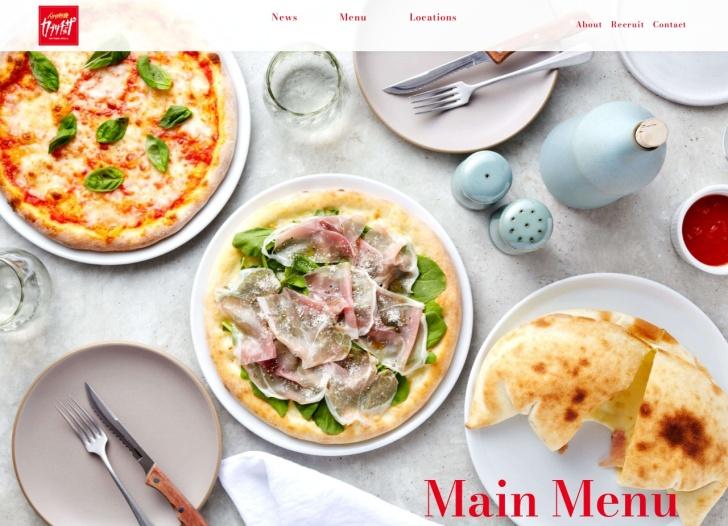 Screenshot of capricciosa.com