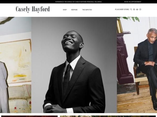 Screenshot of casely-hayford.com