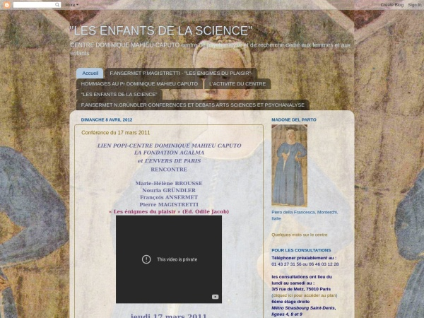 Screenshot of centremahieucaputo.blogspot.ch