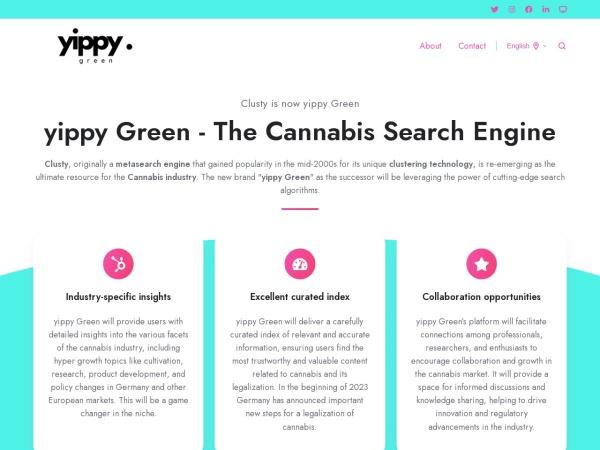 Suchmaschine Clusty.com