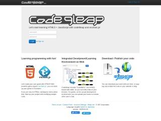 Screenshot of code.9leap.net