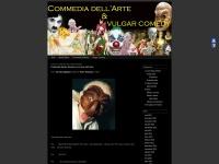 Screenshot of commedia.klingvall.com