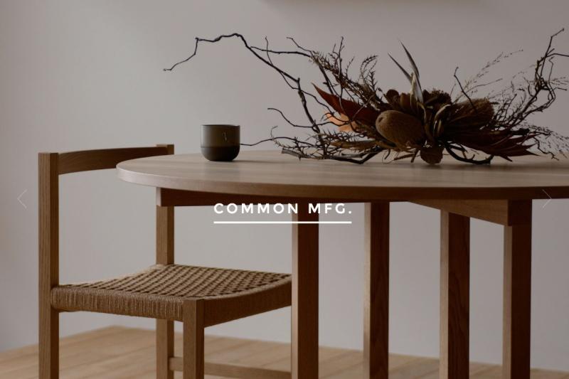 Screenshot of common-furniture.com