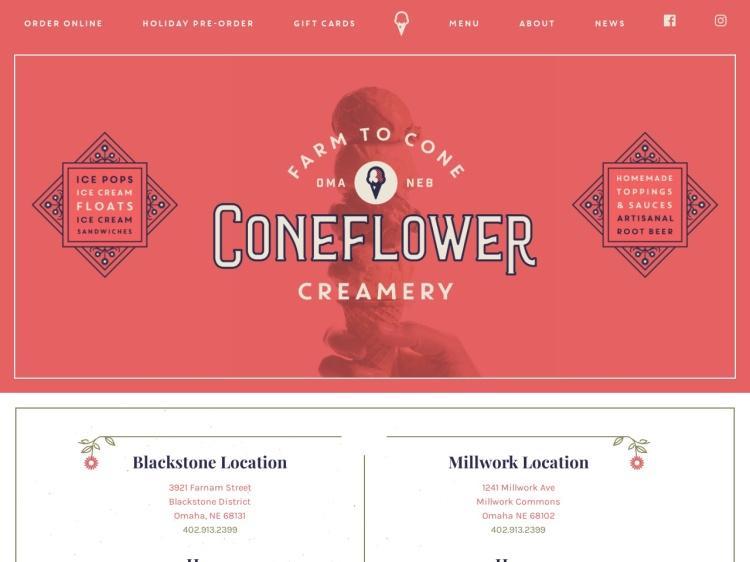 Coneflower Creamery ? Farm to Cone Ice Cream ? Omaha, Nebraska