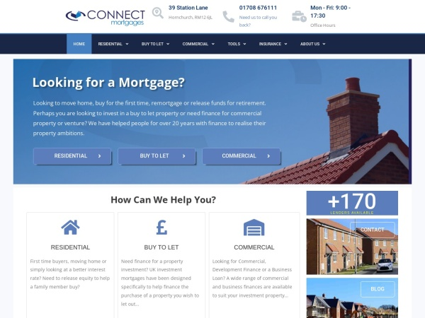 Connect Mortgages Screenshot