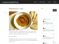 Moka WordPress Theme example