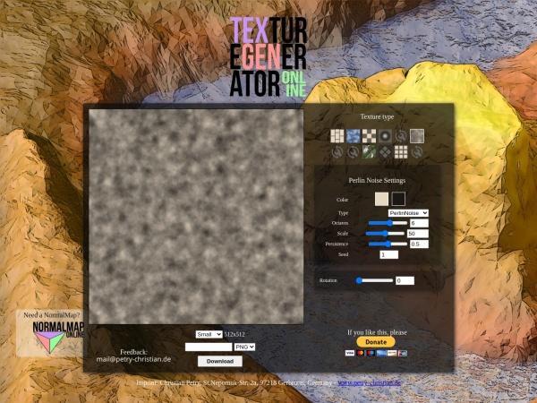 http://cpetry.github.io/TextureGenerator-Online/