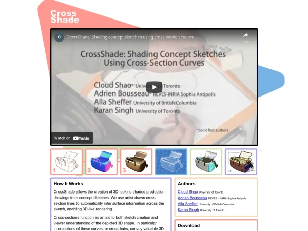 Screenshot of crossshade.com