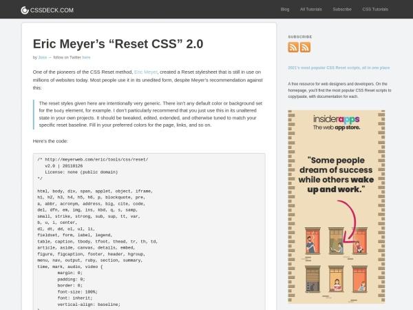 http://cssreset.com/scripts/eric-meyer-reset-css/