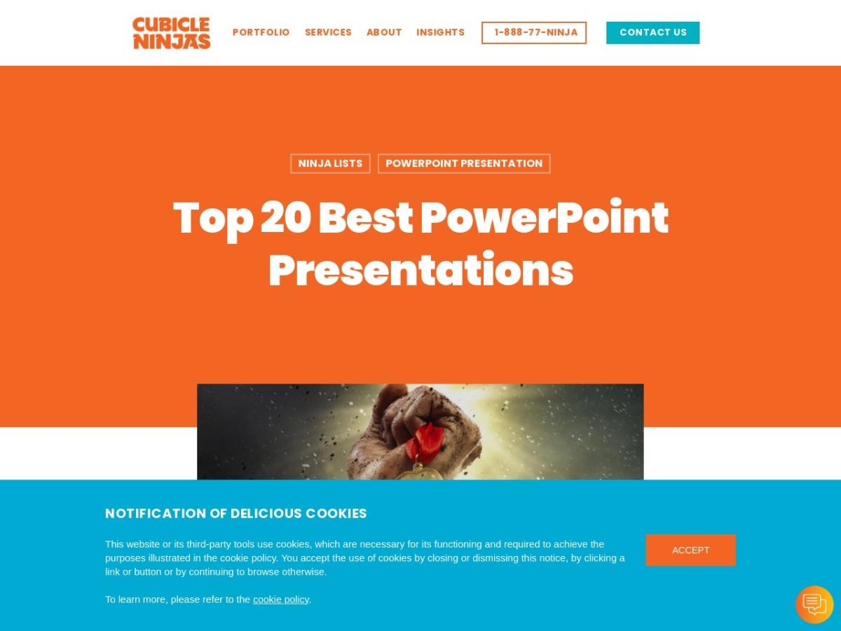 http://cubicleninjas.com/top-20-best-powerpoint-presentation-design/