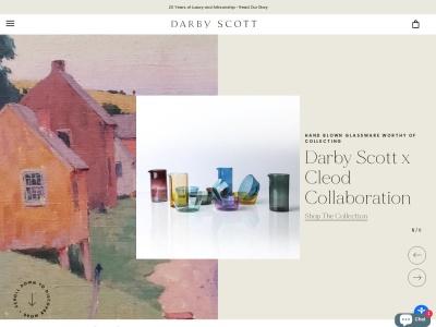 Screenshot of darbyscott.com