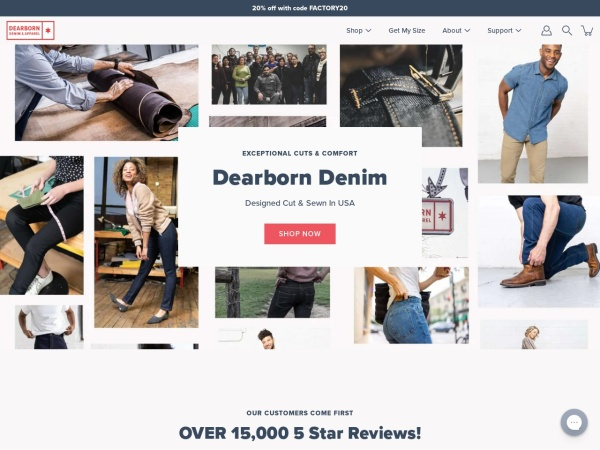Review of dearborndenim