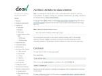http://deon.drivendata.org/