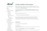 Screenshot of deon.drivendata.org