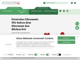 Deutsches Ehrenamt Erfahrungen (Deutsches Ehrenamt seriös?)