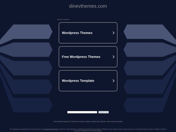 DinevThemes home page