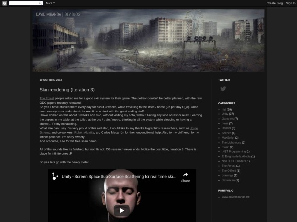 Screenshot of dmg3d.blogspot.com.es