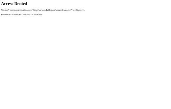 Screenshot of drakin.net
