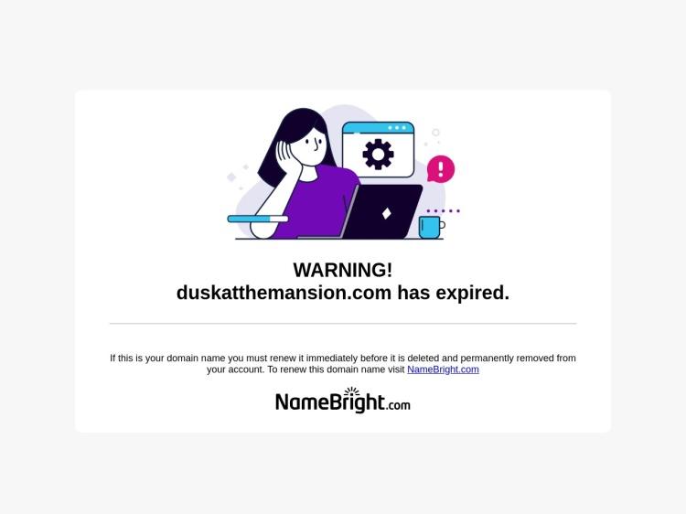 Dusk at the Mansion | Official Dusk at the Mansion Website