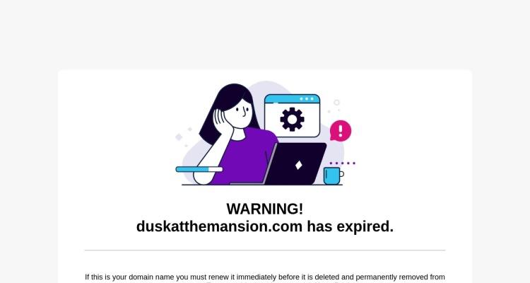 Dusk at the Mansion   Official Dusk at the Mansion Website
