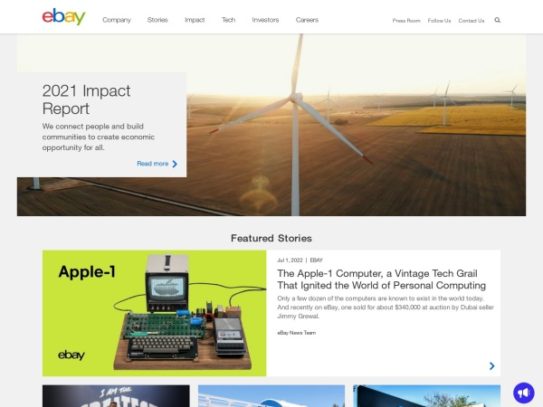 Screenshot of ebayinkblog.com